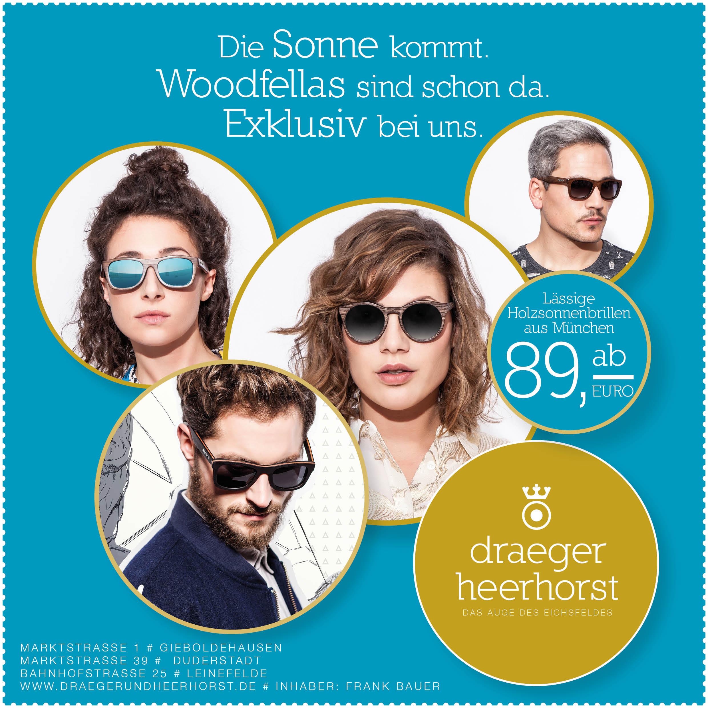 Holzbrillen exklusiv im Eichsfeld